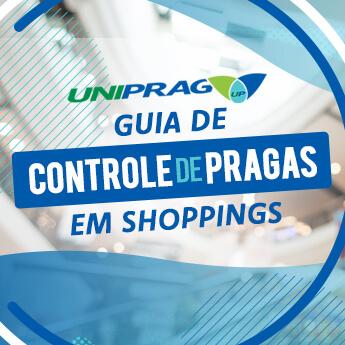 Ebook Guia de Controle de Pragas em Shoppings